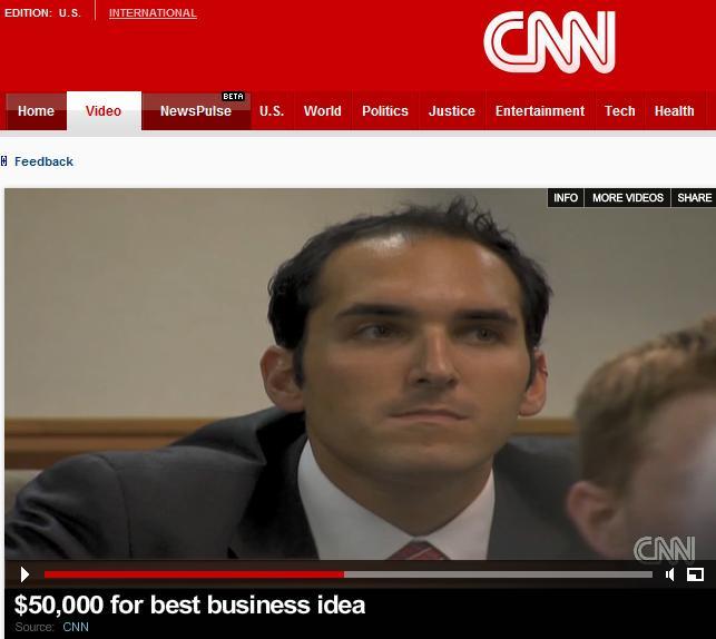 cnn live with uga u2019s top entrepreneur